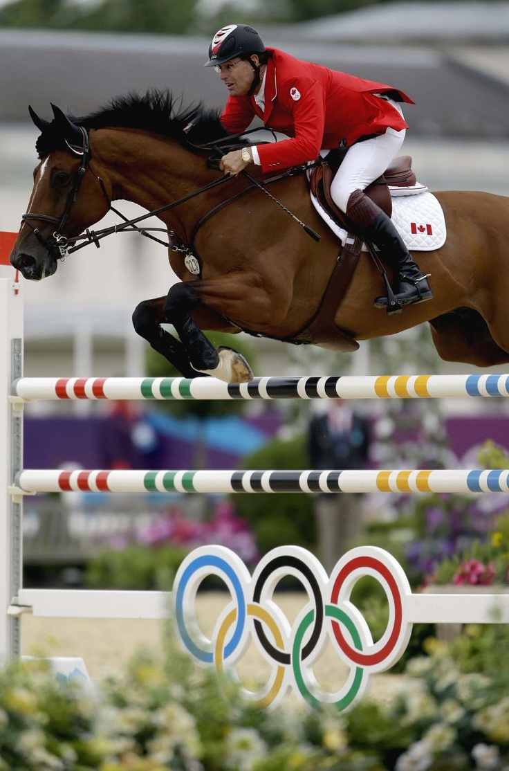 A Jump In Horse Jump In Olympics